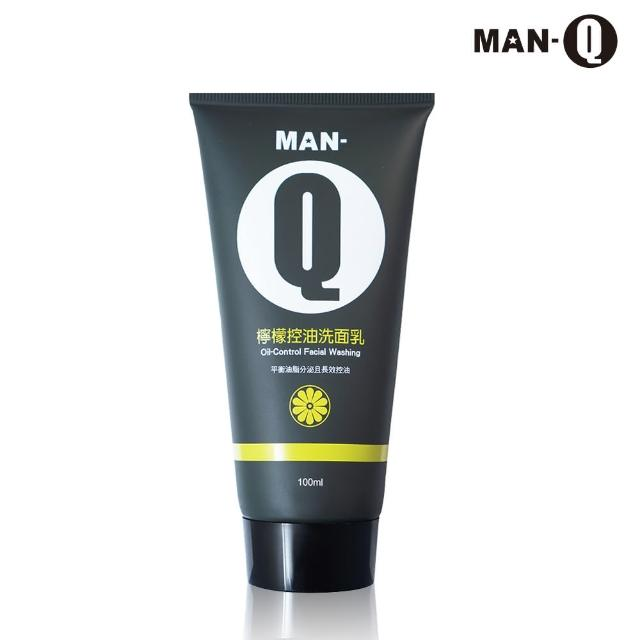 【MAN-Q】檸檬控油洗面乳(100mlx1入)