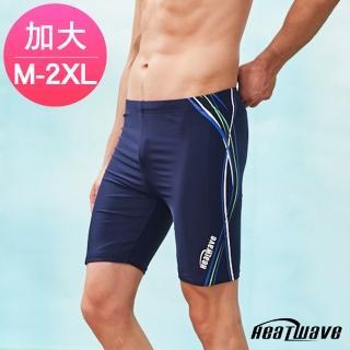 【Heatwave 熱浪】男泳褲 七分馬褲-汪洋波(350)  Heatwave 熱浪