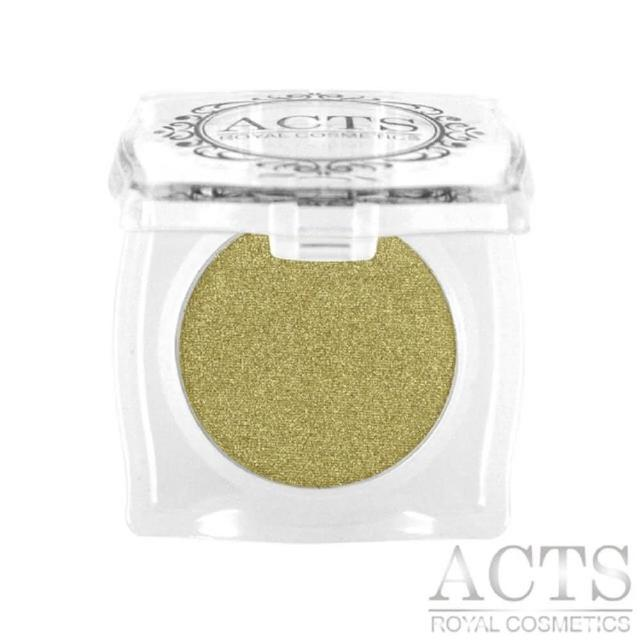 【ACTS 維詩彩妝】細緻珠光眼影 橄欖金8408
