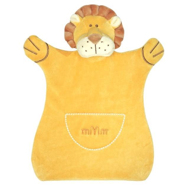 【美國miYim】有機棉手偶安撫巾(里歐獅子)