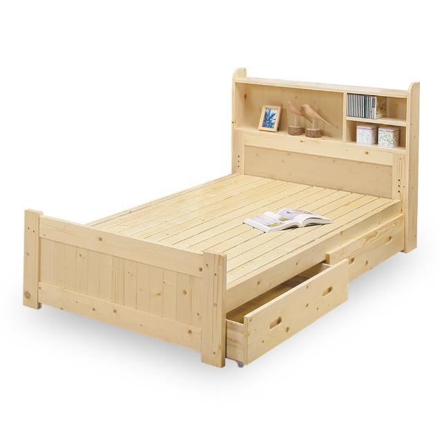 【時尚屋】小蜜蜂3.5尺抽屜加大單人床NM7-60-5(免運費 免組裝 臥室系列)