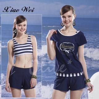 【泳之美】時尚四件式比基尼泳裝(NO.6012)  小薇的店