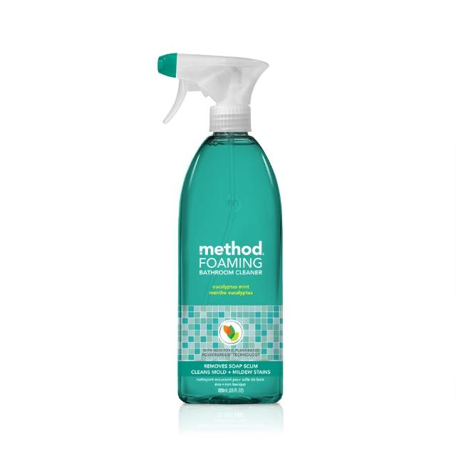 【Method 美則】浴廁泡沫清潔劑-尤加利薄荷828ml