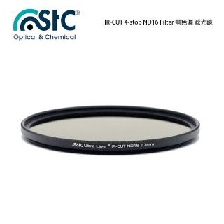【STC】IR-CUT 4-stop ND16 Filter(77mm 零色偏ND16減光鏡)