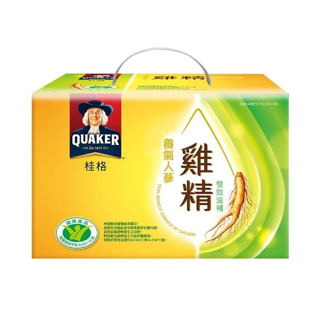 【桂格】養氣人蔘雞精禮盒68ml-18入x7盒
