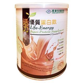 【長庚生技】活力優質蛋白飲-焦糖可可(300g/罐)   長庚生技