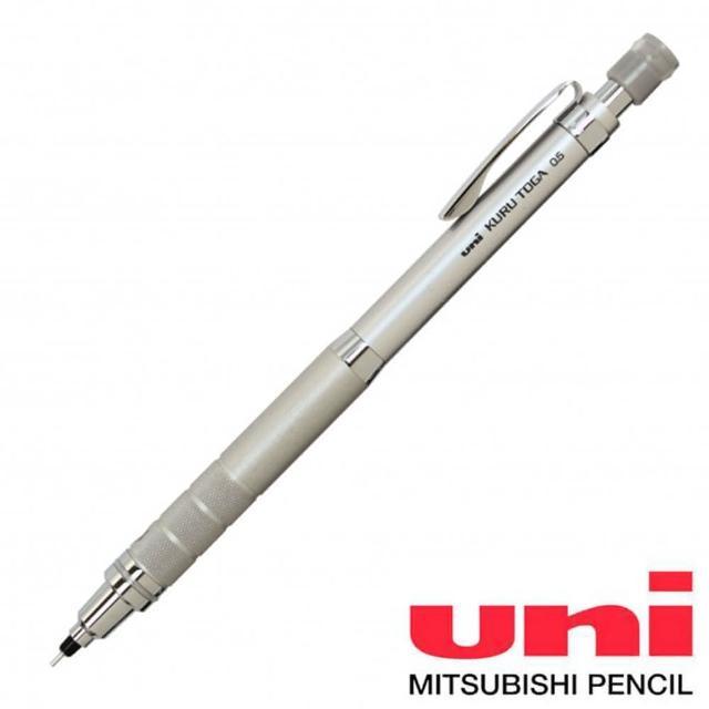 【UNI】UNI KURU TOGA M5-1017 0.5mm自動鉛筆 銀色(1017)
