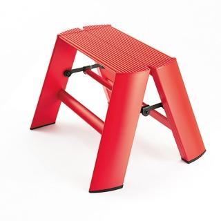 【長谷川Hasegawa設計好梯Lucano設計傢俱梯】1階24cm 紅色(ML-1RD)  Hasegawa 長谷川