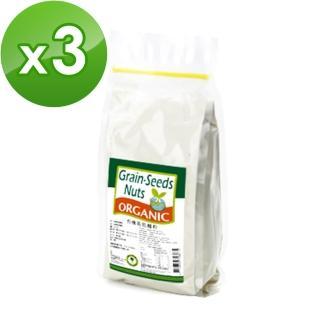 【康健生機】有機高筋麵粉(500g)x3包  康健生機