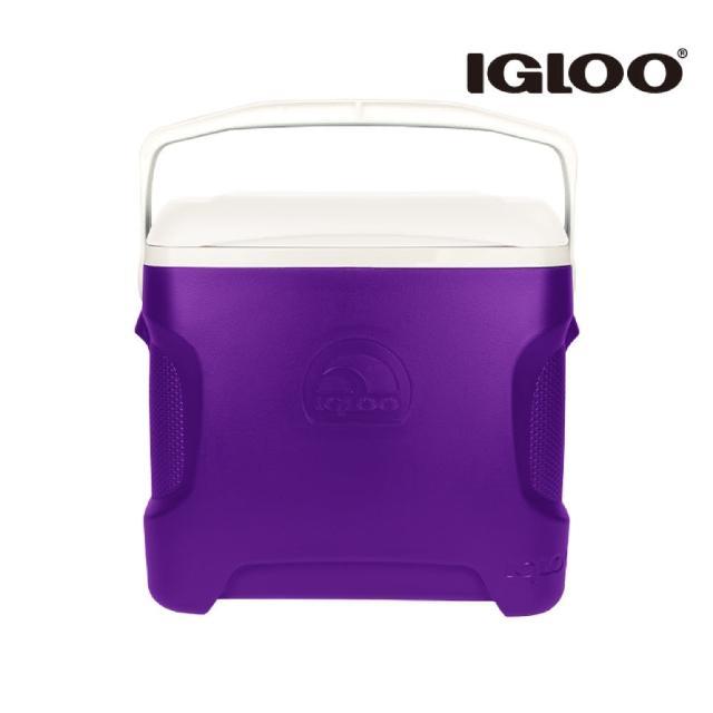 【IgLoo】CONTOUR系列30QT冰桶49479 紫色(保鮮保冷、美國製造、露營、釣魚)