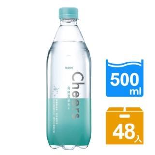 【泰山】Cheers氣泡水500ml(24入x2箱)  泰山