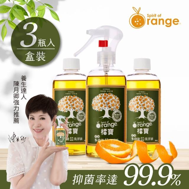 【橘寶】蔬果碗盤天然洗淨劑(六瓶)
