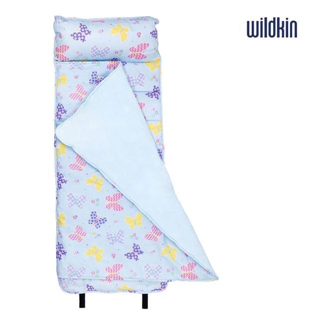 【美國Wildkin】無毒幼教睡袋(28113蝴蝶花園)