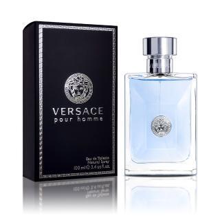 【Versace 凡賽斯】同名經典男性淡香水(100ML)  VERSACE 凡賽斯