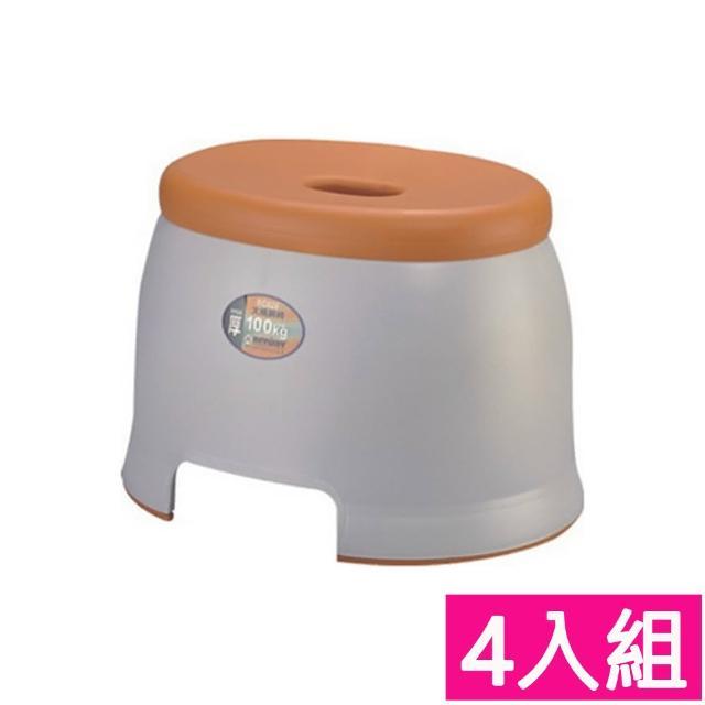 【生活King】大橫綱塑膠椅(4入組)