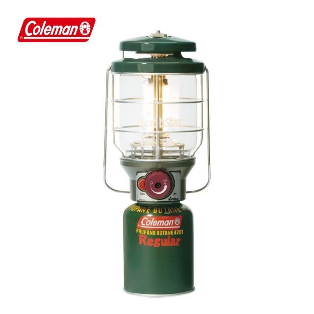【COLEMAN】2500北極星瓦斯燈-綠(CM-5520JM000)