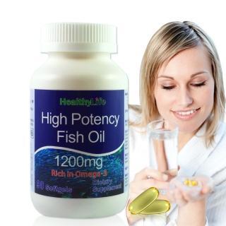 【加拿大Healthy Life】加力活歐米加600魚油膠囊(90顆/瓶)  Healthy Life 加力活