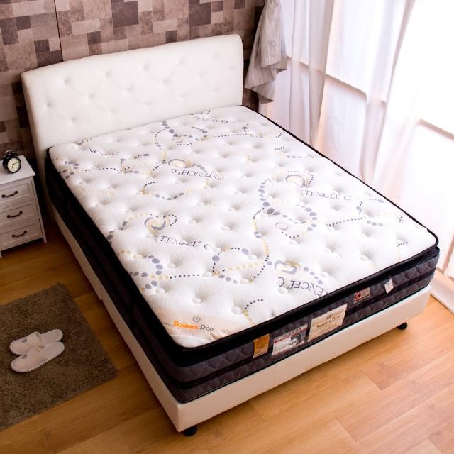 【Sommeil Dor】天絲C正三線6尺獨立筒床墊