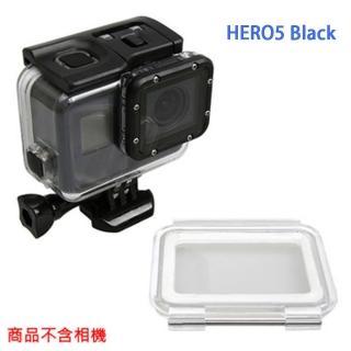 【GOPRO 副廠】HERO5 Black 防水殼+觸控後蓋 可不拆鏡頭  GOPRO 副廠