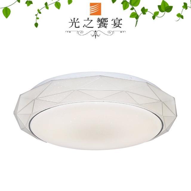 【光之饗宴】LED 24W 鑽石環型吸頂燈(白光)