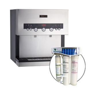 【德克生活】Q3-2S桌上型冷熱雙溫飲水機(日本恆溫陶瓷加熱器)   德克生活