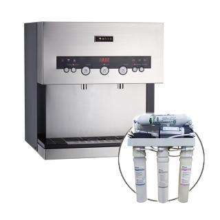 【德克生活】Q3-3S桌上型冰冷熱三溫飲水機(贈5道式RO逆滲透)  德克生活