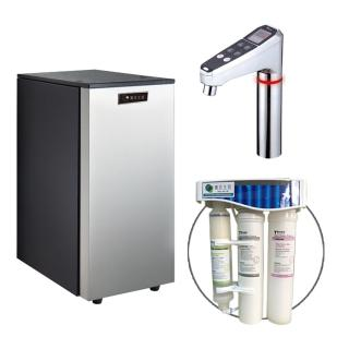 【德克生活】HS-68 櫥下冰冷熱三溫飲水機(日本恆溫陶瓷加熱器)   德克生活