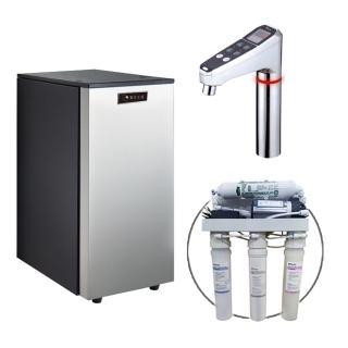 【德克生活】HS-68 櫥下冰冷熱三溫飲水機(贈5道式RO逆滲透)  德克生活