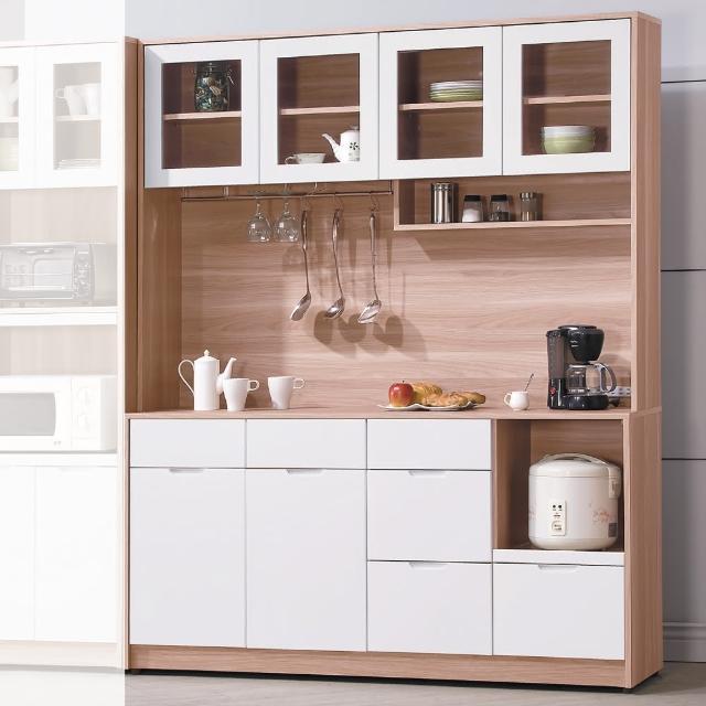 【AS】格里北歐5.3尺餐櫃-40.5x161x200cm