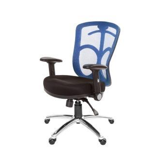 【GXG】短背電腦椅 TW-096LU1(摺疊扶手/鋁腳)  吉加吉