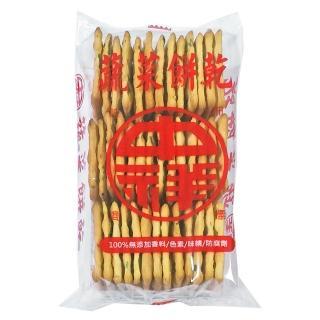 【中祥】蔬菜蘇打餅乾160g  中祥