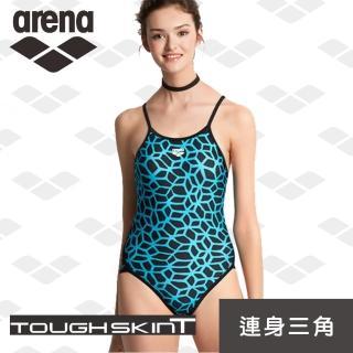 【arena】女士 訓練款 連體三角 泳衣 時尚 性感 美背 小胸聚攏 多色(TMS7116WA)  arena