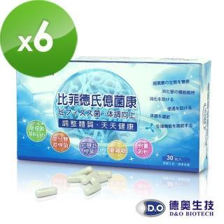 【德奧】日本森永比菲德氏億菌康x6盒(30粒/盒)   德奧生技