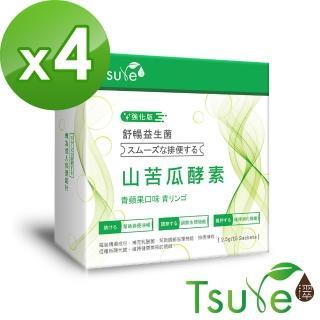 【日濢Tsuie】舒暢酵素益生菌(15包/盒)x4盒   Tsuie 日濢