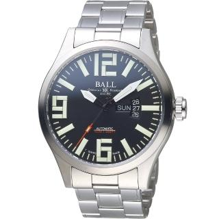 【BALL 波爾】Engineer Master II Aviator機械腕錶(NM1080C-S14A-BK)  BALL 波爾