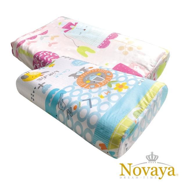 【Novaya 諾曼亞】《微笑寶貝》恆溫水冷凝膠人體工學兒童枕(8款)