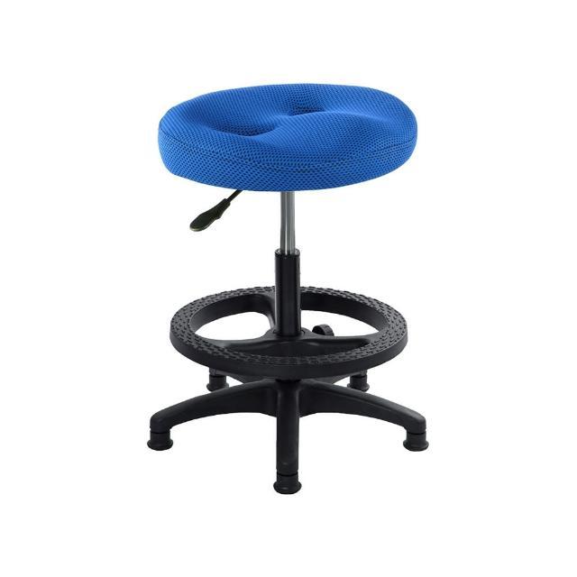 【吉加吉】成型泡棉 工作椅 PP腳踏圈款(TW-T09EK)