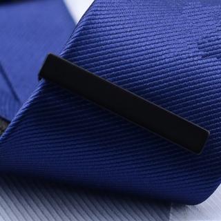 【拉福】領帶夾窄版領帶夾窄領夾霧面(4.0cm)  拉福