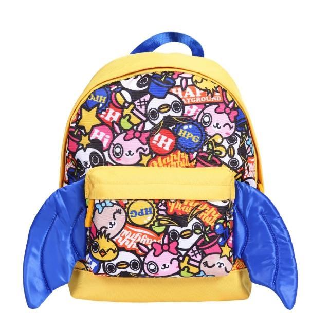 【HappiPlayGround】嘻哈小玩家兒童背包(黃藍)