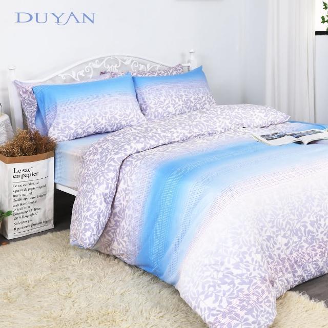【DUYAN 竹漾】天絲雙人床包三件組- 櫻吹雪