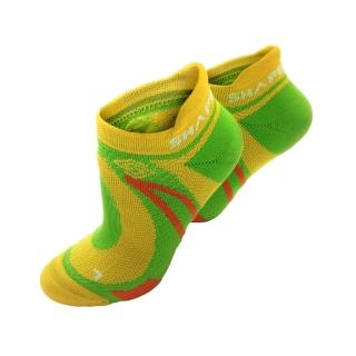 【SHAPER MAN】極限越野運動襪-黃綠 (S-M 22-25cm)(機能運動襪)  SHAPER MAN
