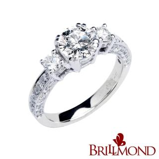 【BRILLMOND JEWELRY】燦爛永恆GIA一克拉鑽戒(D VS2 3EX 18K金台)   BRILLMOND JEWELRY