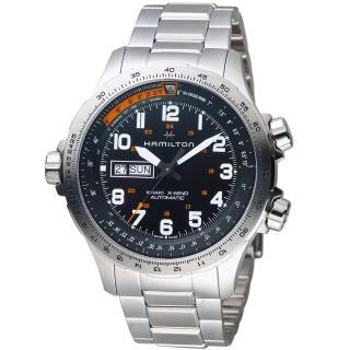 【HAMILTON 漢米爾頓】Khaki X-Wind御風者自動腕錶(H77755133)   HAMILTON 漢米爾頓