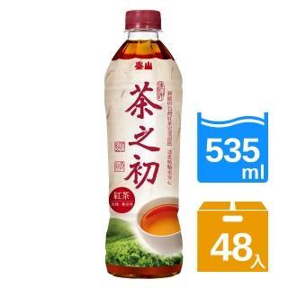 【泰山】茶之初紅茶535mlx2箱(共48入)   泰山