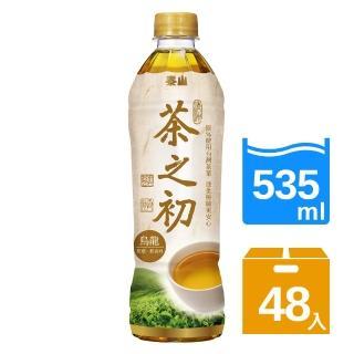 【泰山】茶之初烏龍茶535mlx2箱(共48入)  泰山