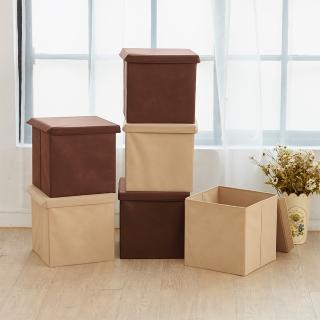 【ikloo 宜酷屋】可折疊不織布收納箱/收納盒 3入組  ikloo 宜酷屋