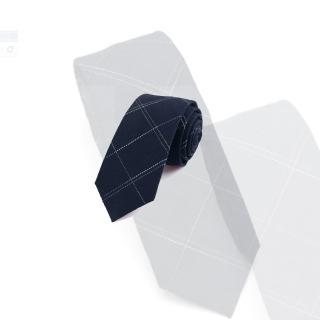 【拉福】領帶領帶棉質領帶6cm領帶拉鍊領帶(拉鍊)  拉福