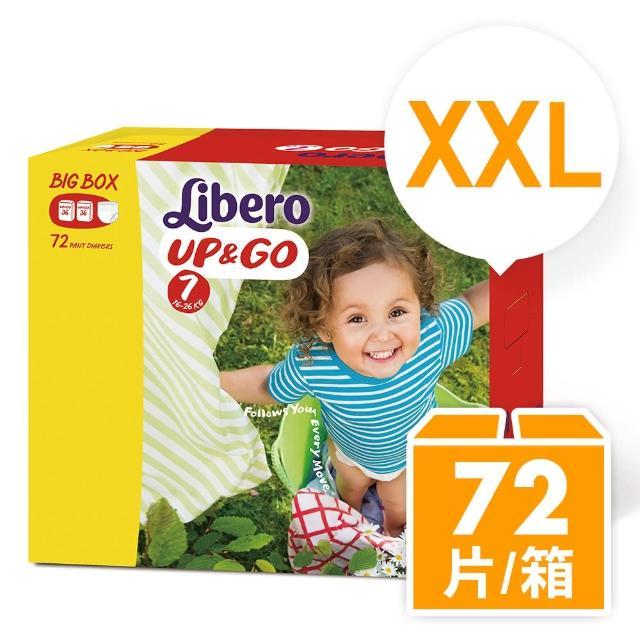 箱購-【麗貝樂】敢動褲7號 (XXL-36片x2包)