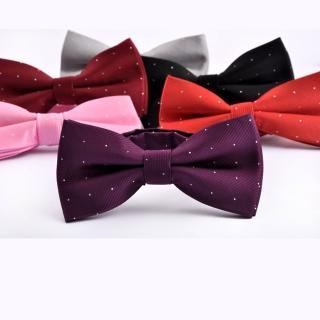 【拉福】兒童領結糾糾點點小紳士專用領結(銀絲點點多色)  拉福