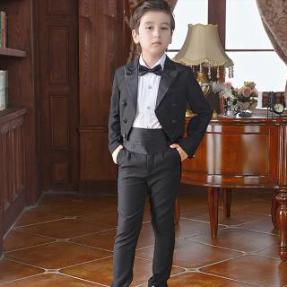 【拉福】單男童腰封伴郎小朋友兒童領結腰帶組(領結+腰)   拉福